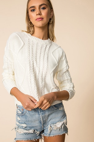 Reese Crew Neck Sweater