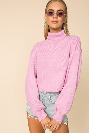 Madison Turtleneck Sweater