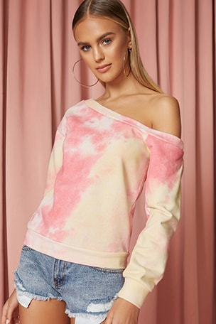 Ashtyn Off Shoulder Sweatshirt