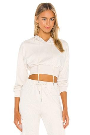 Angelia Cropped Sweatshirt