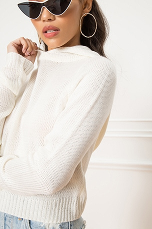 Brianne Hooded Sweater