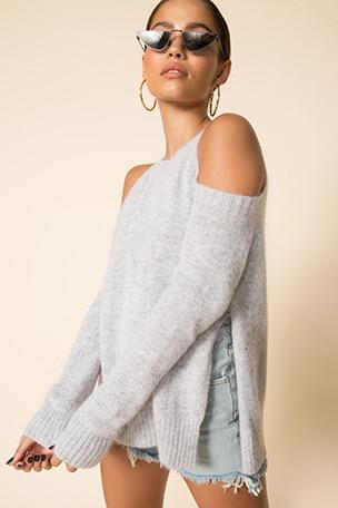 Aldis Cold Shoulder Sweater