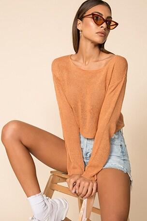 Jocelyn Sheer Sweater