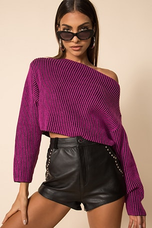 Mae Cropped Sweater