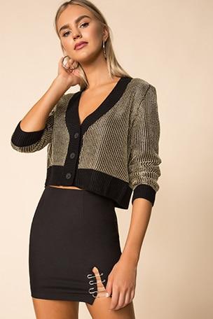 Loraine Metallic Sweater
