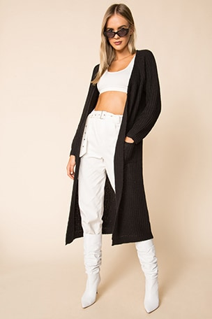 Miliana Long Cardigan