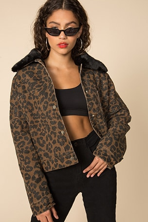 Cici Snap Front Jacket