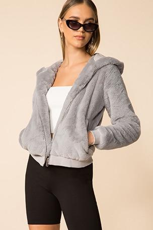 Marissa Hooded Jacket