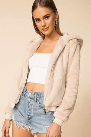 Marissa Hooded Jacket