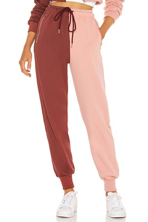 Renna Two Tone Sweatpants