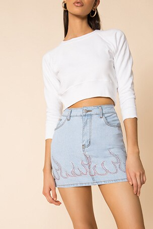 Fierra Denim Skirt