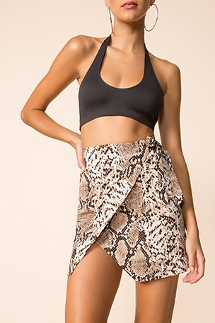 Alyssa Wrap Skirt