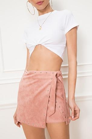 x REVOLVE Coryna Wrap Skirt
