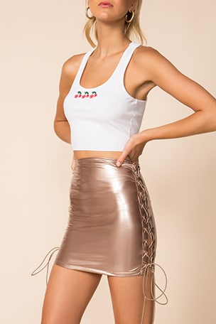 Arabella Lace Up Skirt