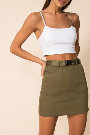 Sandra Cargo Skirt