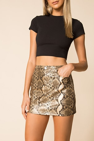 Khloe Mini Skirt