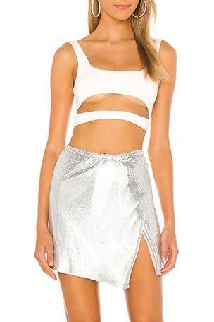 Ember Chain Mini Skirt