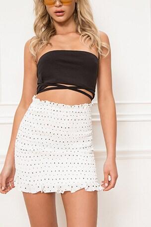 Amanda Smocked Skirt