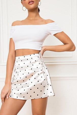 Reyana Side Tie Skirt