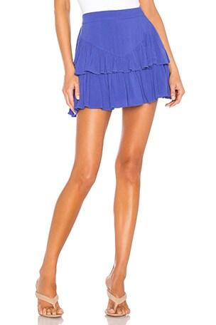 Becky Ruffle Tier Skirt