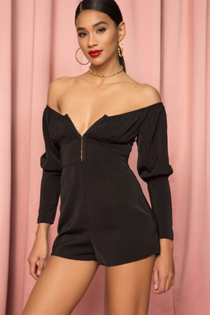 Rylie Off Shoulder Romper