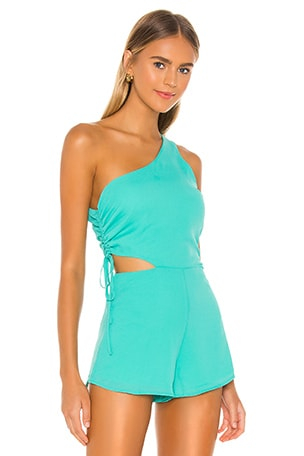 Aimey One Shoulder Romper