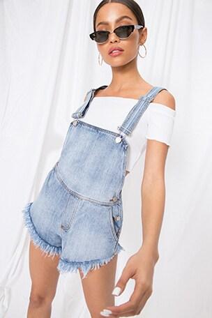 Diem Overall Shorts