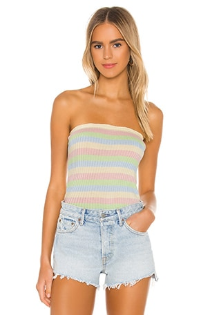 Milla Knit Strapless Top