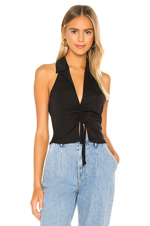 London Ruched Front Top
