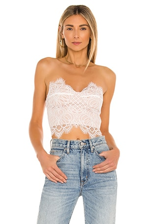 Kendall Lace Crop Top