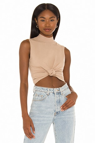 Felicity Knot Front Top