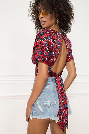 Camila Tie Back Top