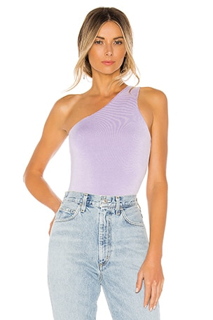 Devonne One Shoulder Bodysuit