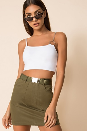 Alia Crop Top