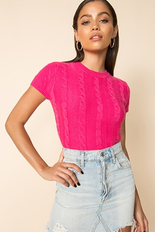 Demi Knit Crop Top