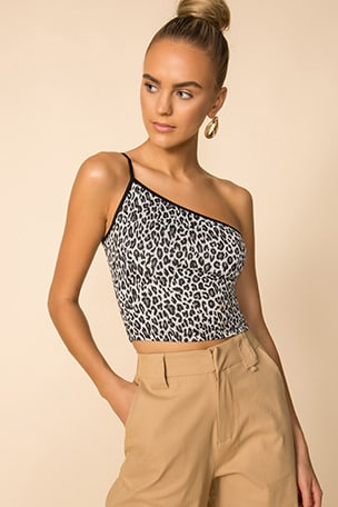 Tiana One Shoulder Top