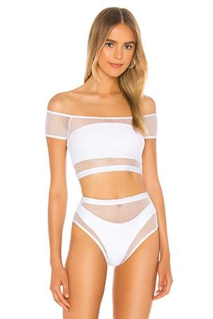Lorna Mesh Bikini Top