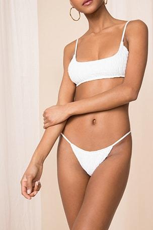 x REVOLVE Olivia Smocked Bikini Bottom