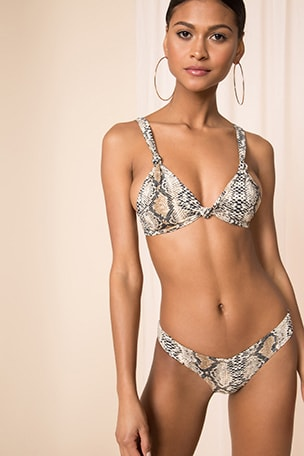 x REVOLVE Cher Knot Bikini Top