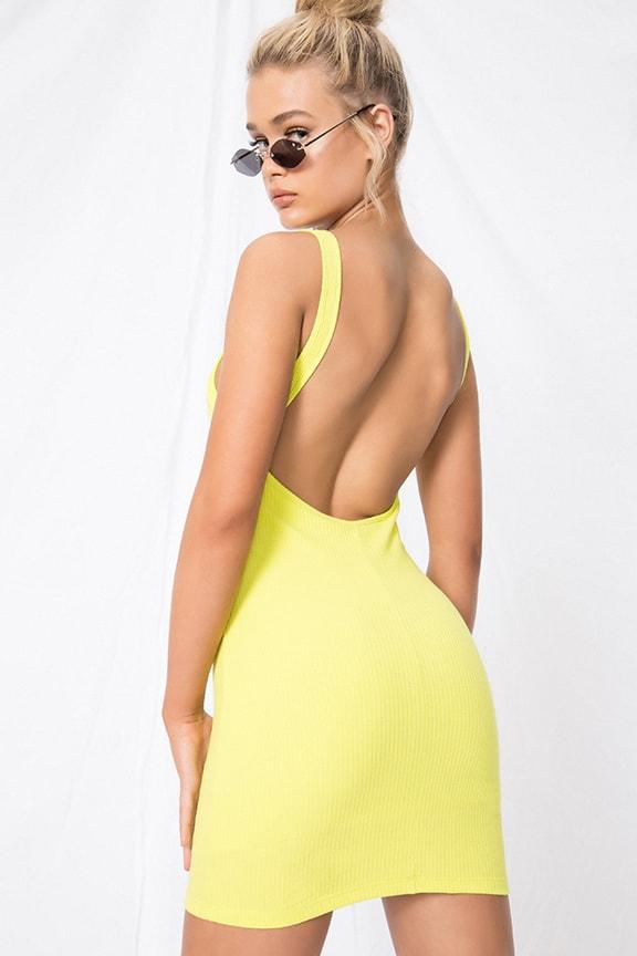 88d3f88f0c4a Superdown Kourtney Backless Mini Dress