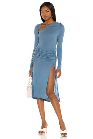 Xale Midi Dress