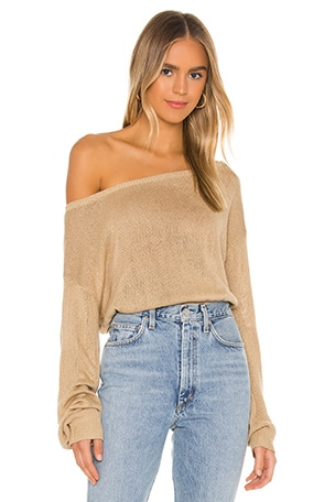 Jennifer Off Shoulder Sweater
