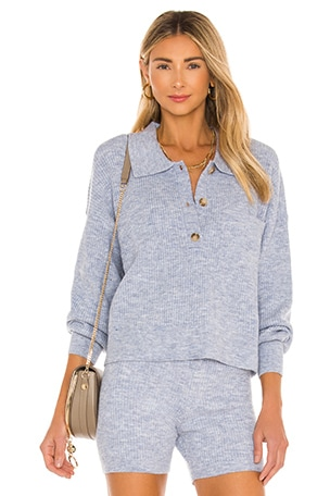 Amanda Oversized Knit Polo