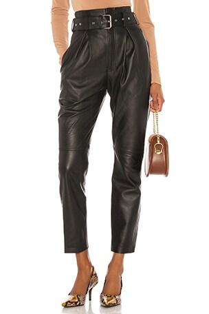 Suzie Leather Pants