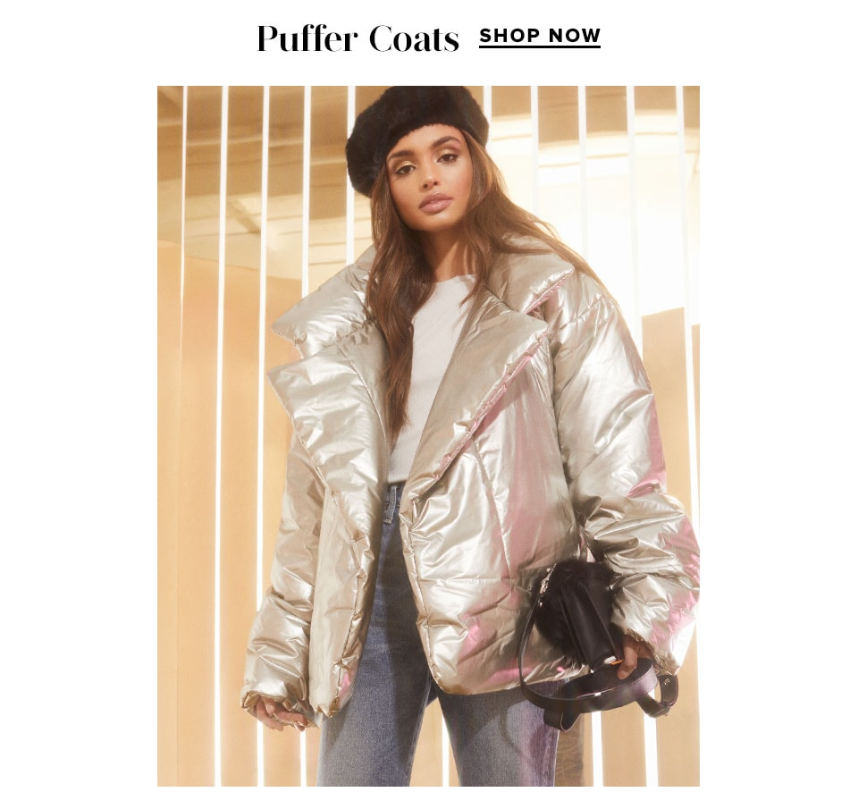 Luxe Coats: Puffer Coats. Shop Now.