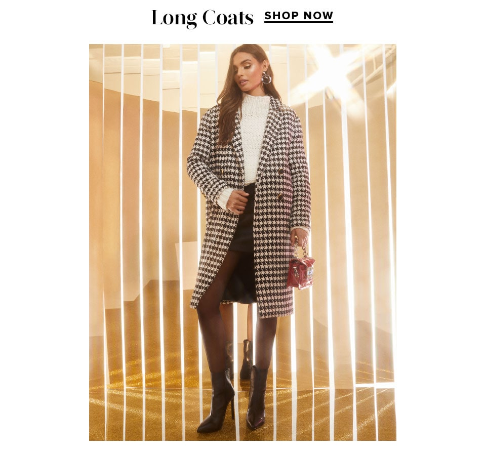 Luxe Coats: Long Coats. Shop Now.