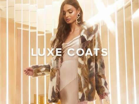 Luxe Coats. Turn up the heat with the season's hottest outerwear - from puffer coats, to faux fur, to long coats. Shop Now.