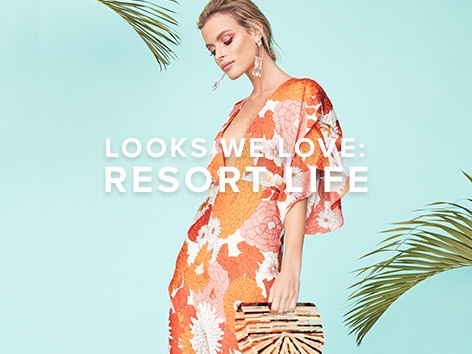 Looks We Love: Resort Life. Whether you\u2019re a vibrant jet-setter or a laid-back beach babe, here\u2019s how to perfect your vacay style. Shop the Edit.