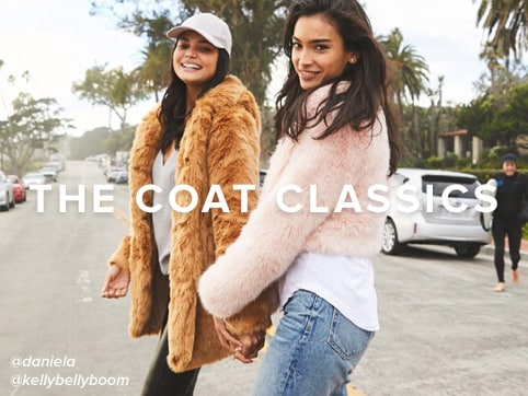 The Coat Classics. Shop the Edit.