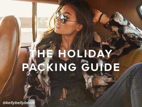 The Holiday Packing Guide. Shop now.